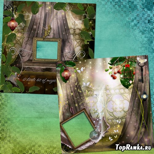 Оригинальные рамки для фотошопа - Lost Treasure