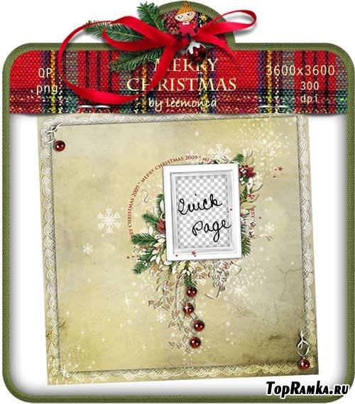 Рамочка - Merry Christmas 2