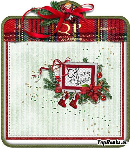 Рамочка - Merry Christmas