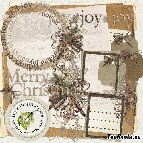Рождественский скрап набор - Christmas Joy