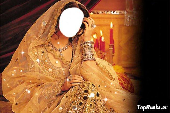 Индианка - костюм для  фотомонтажа