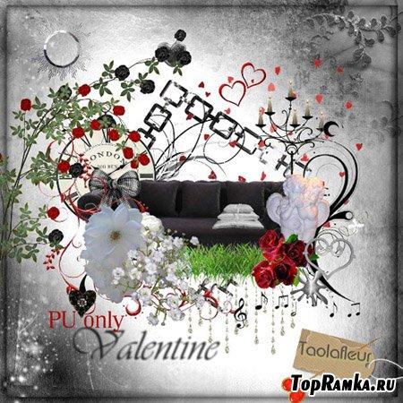 Скрап набор - Valentine