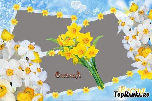 """Рамка для фото - """"Весна"""""""