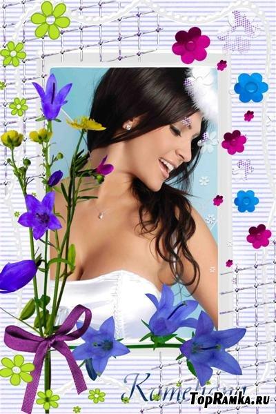 """Рамочка для фото """"Полевые цветочки"""""""