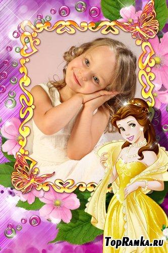 Рамка для фото - Маленькая принцесса