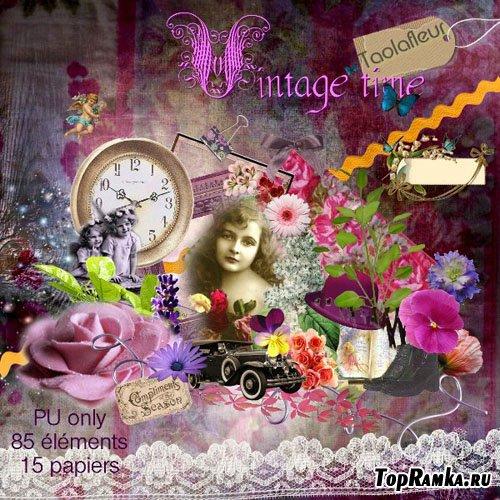 Скрап набор - Vintage Time