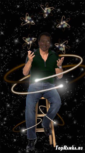 Скачать мужской шаблон - Звёздный жонглёр