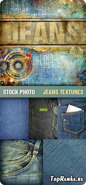 Скачать  тесктуру для фотошопа - Jeans Textures