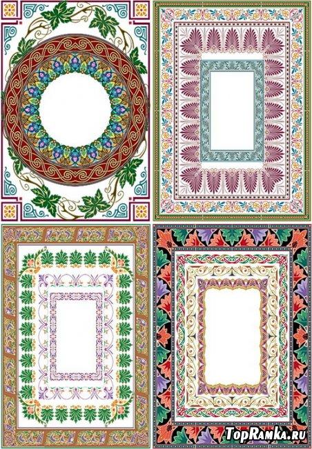 20 декоративных и ажурных рамок