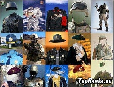69 военных костюма