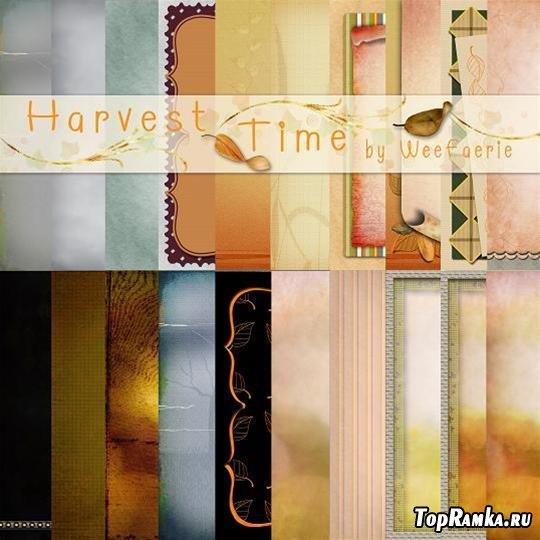 """Скрап-набор """"Время сбора урожая"""" (Harvest time)"""