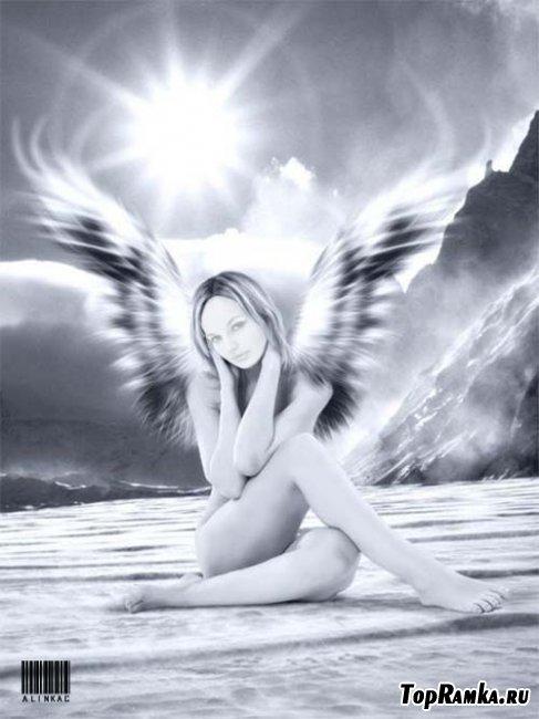 Стильный шаблоны для девушек - Ангел!
