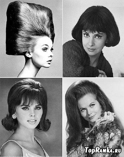 Мода 60-х и 70-х годов. Прическа (Hairstyle).