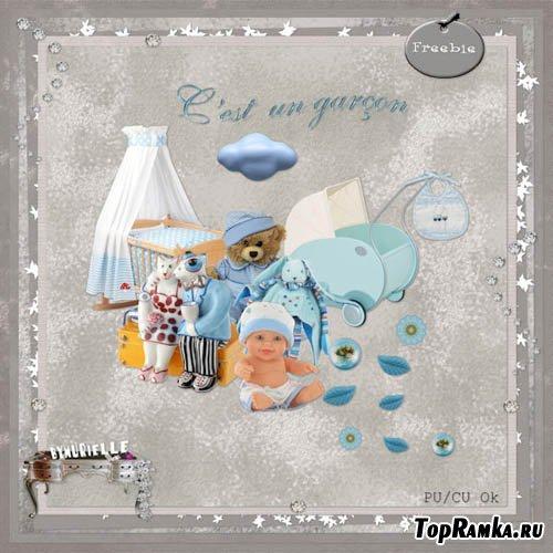 Скрап-набор - Детские Игрушки