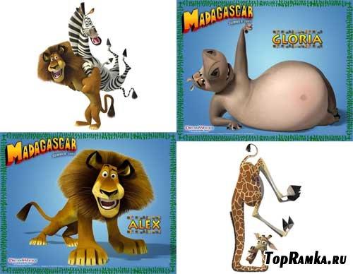"""20 картинок на тему """"Мадагаскар"""""""