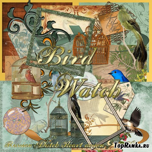 Scrap-set - Bird Watch