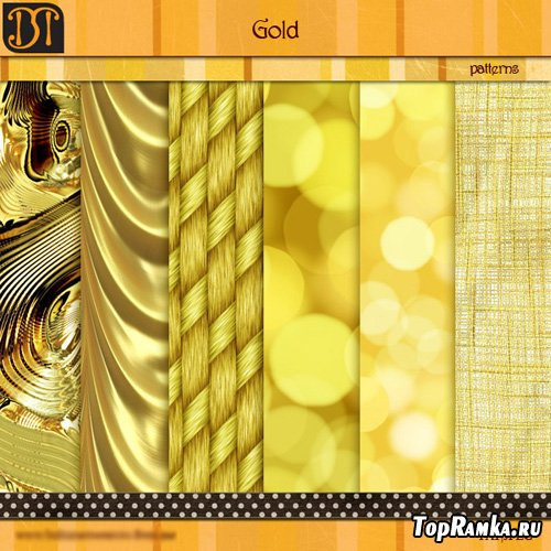 Gold Patterns Set