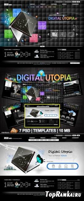 Digital Templates PSD Nr.160