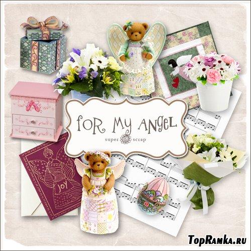 Scrap-kit - For My Angel Set