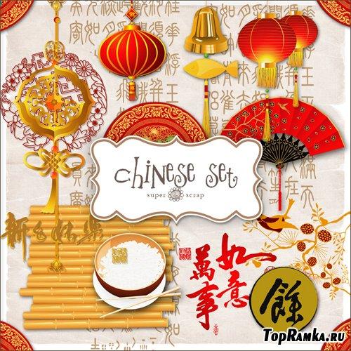 Scrap-kit - Chinese Set