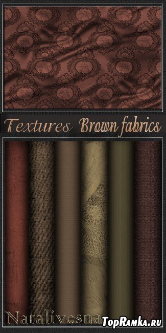 Textures - Brown fabrics
