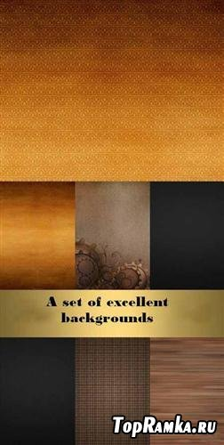 A set of excellent backgrounds
