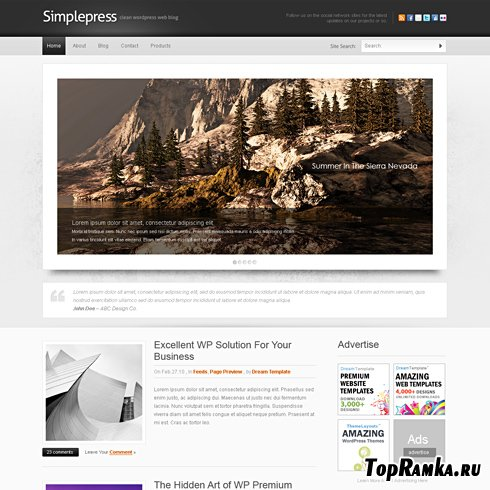 Dynamic CSS Templates - Simplepress
