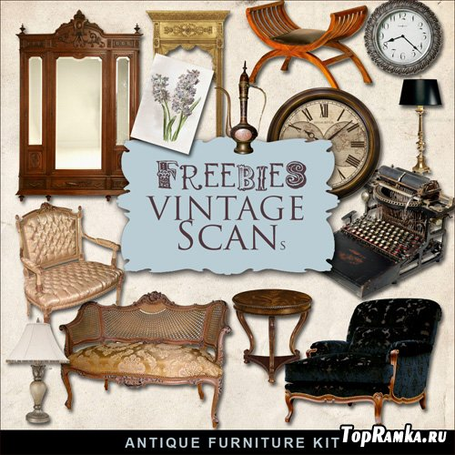 Scrap-kit - Antique Furniture