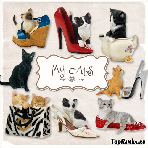 Scrap-kit - My Cats