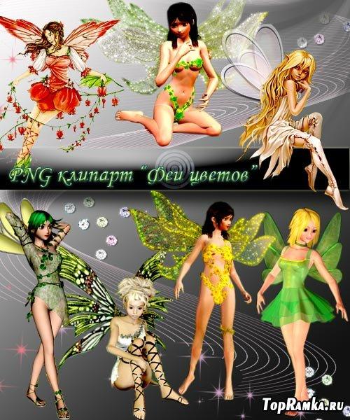 PNG клипарт - Лесные феи