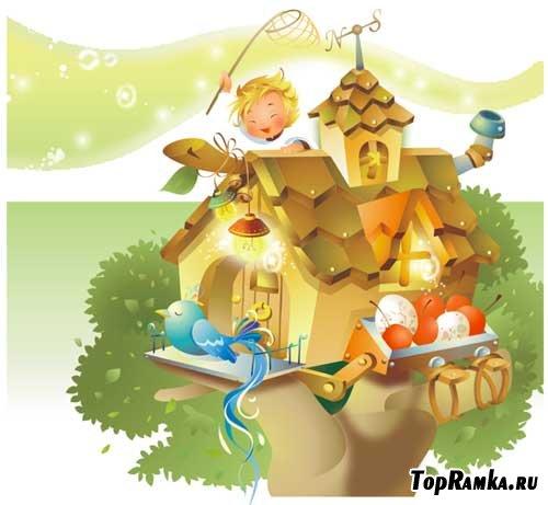 Серия иллюстрации к любимым сказкам (#1)