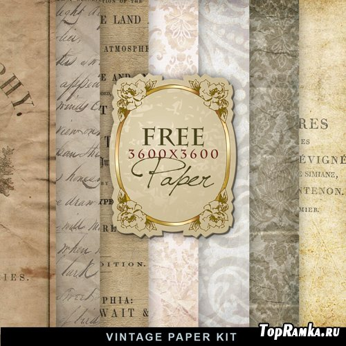 Textures - Old Vintage Backgrounds #28