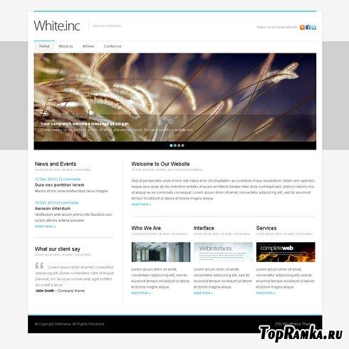 Dynamic CSS Templates - Whiteinc