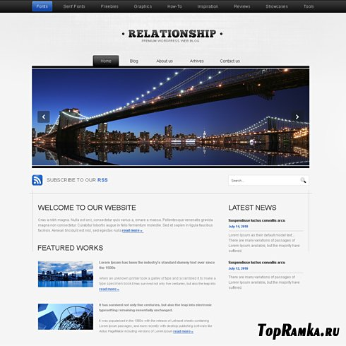 Dynamic CSS Templates - Relation