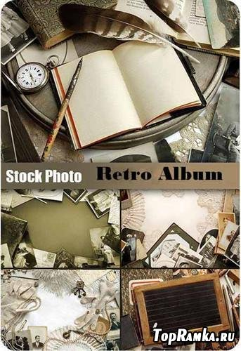 Stock Photo - Retro Album