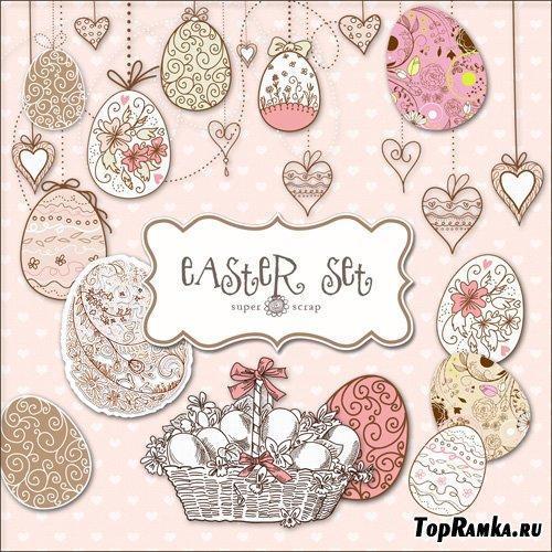 Scrap-kit - Easter Set #4