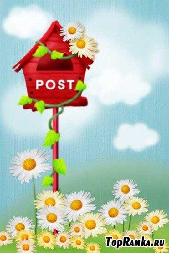 PSD-исходник Почтовый ящик