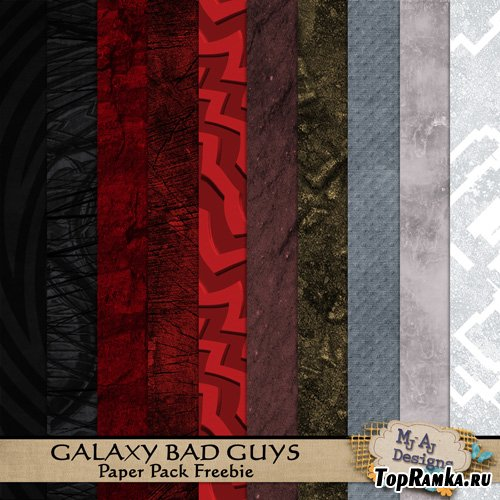 Galaxy Bad Guys Papers Pack