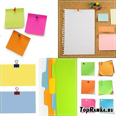 Бумажные листочки