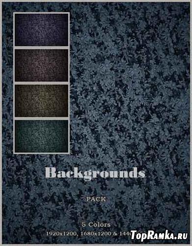 Set of backgrounds ( violet, cyan, purple, retro )