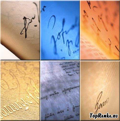 Сборник текстур с надписями
