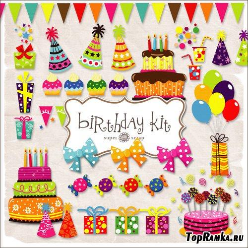 Scrap-kit - Birthday Set #2