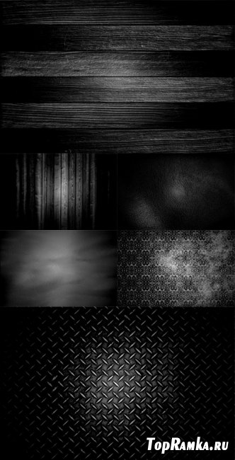 6 Black Backgrounds