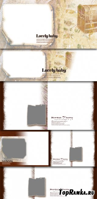 Scholarly family photo album template