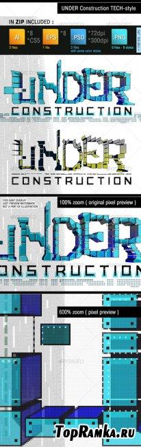 Under Construction Tech - GraphicRiver
