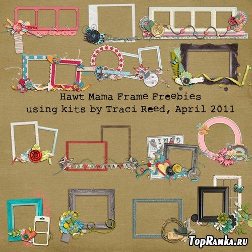 Traci Reed Hawt Mamas April 2011 - Cluster Frames