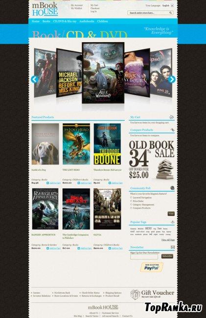 Bookstore - EMTheme Premium Magento Theme