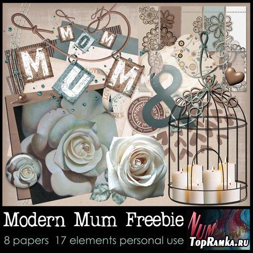 Scrap-set - Modern Mum