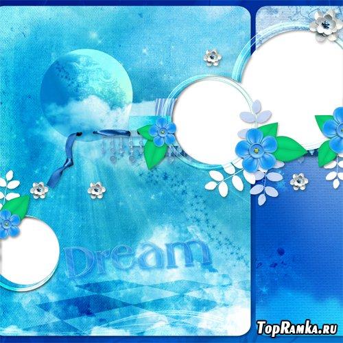 PNG Frames - Blue Dreams