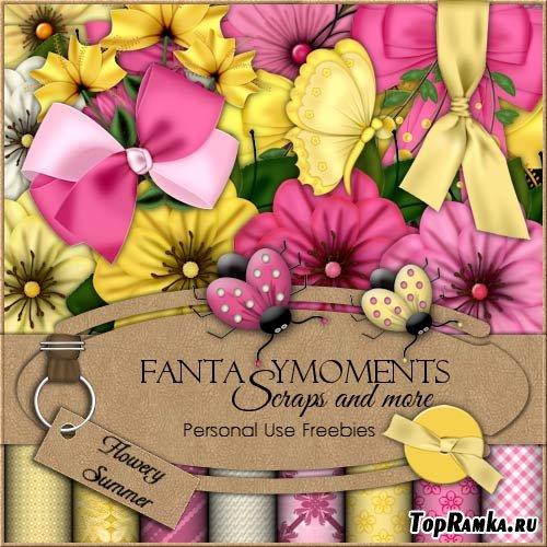 Скрап-набор FM-Flowery Summer